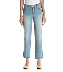Bandolino® Petites' Mandie Highlands Cropped Jeans