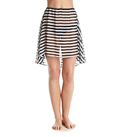 MICHAEL Michael Kors® Stripe Convertible Cover Up Top Or Skirt