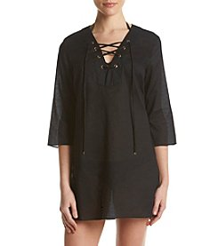 MICHAEL Michael Kors® V-Neck Tunic Coverup