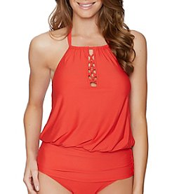 Athena® Cailyn Soft Cup High Neck Tankini Top