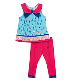 Rare Editions® Baby Girls' Sailboat Set