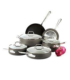 All-Clad® Hard Anodized 10-Pc. Cookware Set +FREE BONUS GIFT see offer details