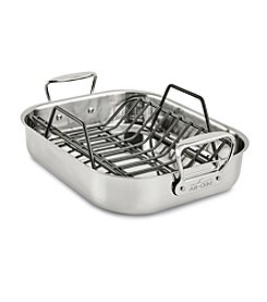 All-Clad® Small Stainless Steel Roaster With Rack