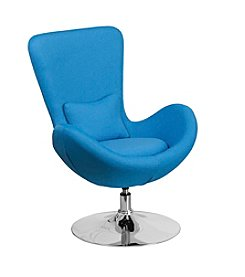 Flash Furniture Fabric Egg Series Reception Lounge Side Chair