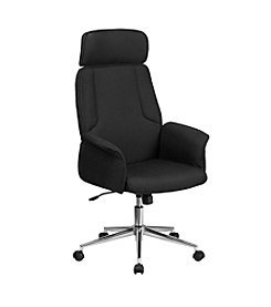 Flash Furniture High Back Fabric Executive Swivel Office Chair