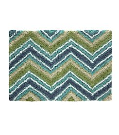 Bacova Chevron Beach Bath Rug