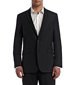 REACTION Kenneth Cole Men's 2 Button Solid Blazer