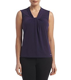 Calvin Klein Petites' Solid Knot Neck Cami