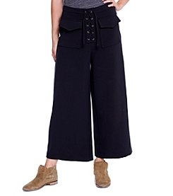 Skylar & Jade™ Lace Up Gaucho Pants