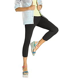 HUE® Temp Control Cotton Capri Leggings