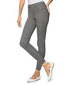 HUE® Gingham Skimmer Leggings