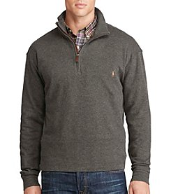 Polo Ralph Lauren® Men's Big & Tall French Ribbed 1/4 Zip Pullover