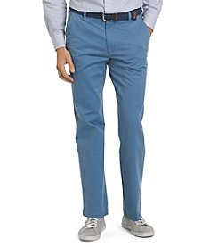 Izod® Men's Performance Chino Straight Fit Flat Front Stretch Pants