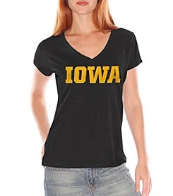 G III NCAA® Iowa Hawkeyes Women's The Franchise Tee