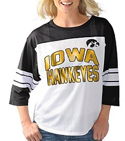 G III NCAA® Iowa Hawkeyes Women's First Team Jersey Tee