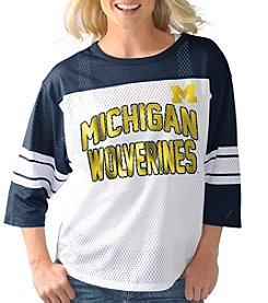 G III NCAA® Michigan Wolverines Women's First Team Jersey Tee