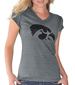 G III NCAA® Iowa Hawkeyes Women's Alumni Short Sleeve Tee