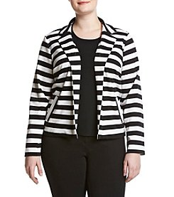 Relativity® Plus Size Front Pocket Blazer
