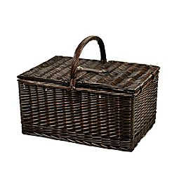 Picnic at Ascot Buckingham Basket for 4 with Blanket & Coffee Set