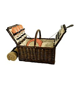 Picnic at Ascot Buckingham Basket for 4 with Blanket