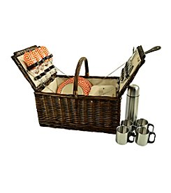 Picnic at Ascot Buckingham Basket for 4 with Coffee Set