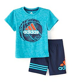 adidas® Baby Boys 2-Piece Defender Short Set