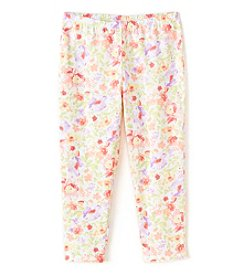 Miss Attitude Girls' 7-16 Printed Capri Leggings