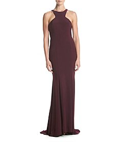 Xscape Cutout Long Dress