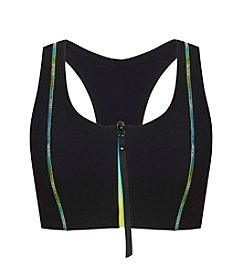 Profile by Gottex® T Back Bra Top With Zip