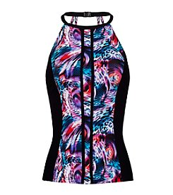 Profile by Gottex® High Neck Tankini T- Back Top