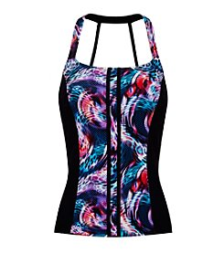 Profile by Gottex® Scoop Neck Tankini Top - D Cup