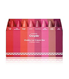 Clinique Crayola Chubby Stick Crayon Box In 8 Brilliant Colors