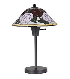 Catalina Lighting Fiona Floral Table Lamp
