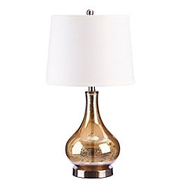 Catalina Lighting Mackenzie Mercury Glass Table Lamp