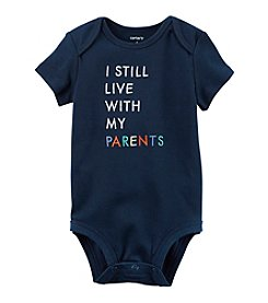 Carter's® Baby Boys' I Live With My Parents Bodysuit