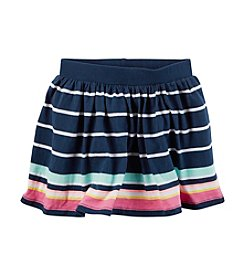 Carter's® Girls' 2T-8 Striped Skort