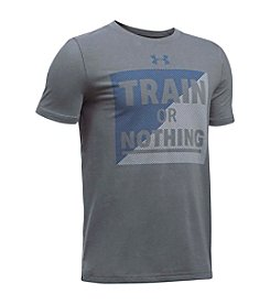 Under Armour® Boys' 8-20 Train Or Nothing Short Sleeve Top