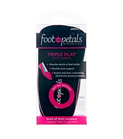 Foot Petals® Triple Play Inserts