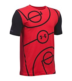 Under Armour® Boys' 8-20 Full Court Short Sleeve Tee