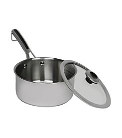 Revere® Stainless Steel 3-Quart Sauce Pot with Lid
