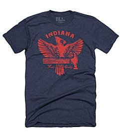 United State of Indiana Men's Cardinal & Hammer Tee