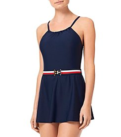 Tommy Hilfiger® High Neck Swim Dress