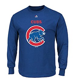 Majestic MLB® Chicago Cubs Men's Critical Victory Long Sleeve Tee