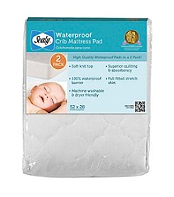 Sealy® Waterproof Crib Mattress Pad - 2-Pack