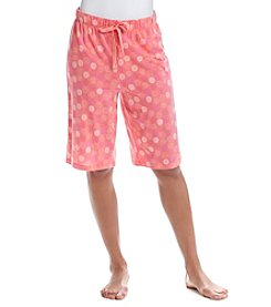 Relativity® Knit Sleep Bermuda Shorts