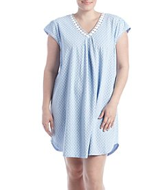 KN Karen Neuburger Plus Size Short Sleepshirt