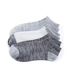 Cuddl Duds® 3-Pack Space Dyed Low Cut Socks