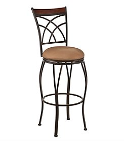Southern Enterprises Ashbourne Swivel Stool