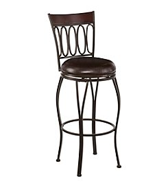 Southern Enterprises Brookshire Swivel Stool