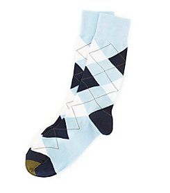 GOLD TOE® Men's Argyle Crew Dress Socks